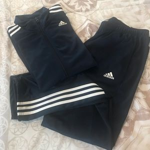 Adidas track suit, dark blue - Size XL